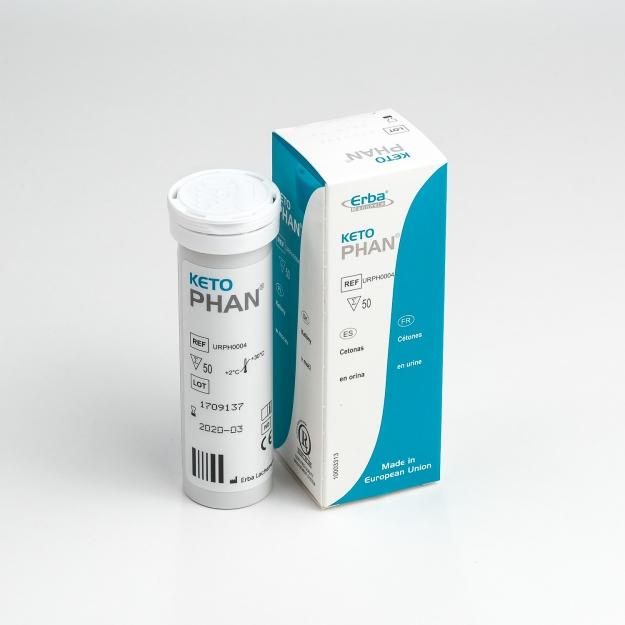 Тест-полоски Кетофан №50